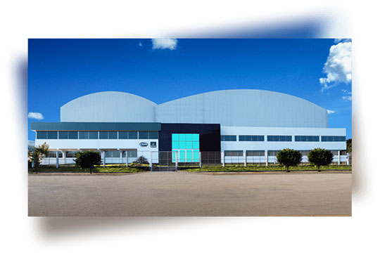 Foto fachada fábrica Etiam Rótulos